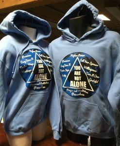 The World You Are Not Alone Sweatshirt