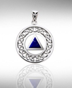 Sterling Silver AA Pendant