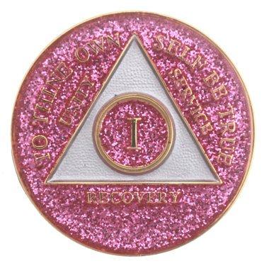 Glitter Tri-Plate Medallions