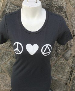 Peace Love AA Women's T-Shirt