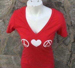 Peace Love AA Women's T-Shirt